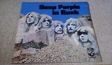 DEEP PURPLE - DEEP PURPLE IN ROCK NO EMI HARVEST G/F UK LP 1970 A2/B1