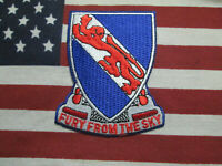 US ARMY 508th Airborne Infantry Regiment Fury From The Sky Pocket Patch c/e