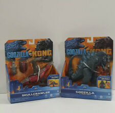 GODZILLA VS KING KONG Skullcrawler with Heav and Godzilla with Radio Tower NEW