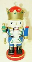 """NUT CRACKER"" Vintage Collectible Solid Wood Material 10 inches Tall ""Christmas"""