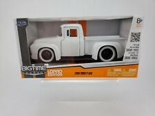 JADA BigTime Muscle LoPro Edition 1956 Ford F-100 pickup NIB white 1:32 Big Time