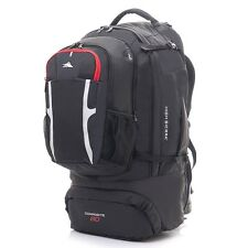 High Sierra Composite 80L with 16L Daypack Black
