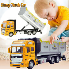 Dump Truck Lorry /w Tipper Construction Work Vehicle Car Toy For Kids Xmas Gift