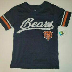 NFL Chicago Bears Girls' T-Shirt - Sizes 4-5 or 6-6X