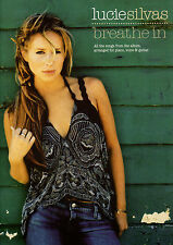 LUCIE SILVAS BREATHE IN Music Book Piano Vocal Guitar PVG Songbook Shop Soiled
