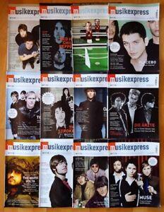 12x Musikexpress 2006 Zeitschrift Magazin Sammlung Hefte Jahrgang Pop Charts