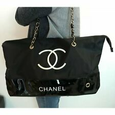 Chanel Paris Beaute VIP Gift Bag Tote  Shoulder Bag Black New