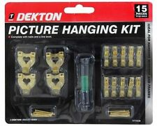 New Deckton 15PC Picture Mirror Frames Hanging Kit