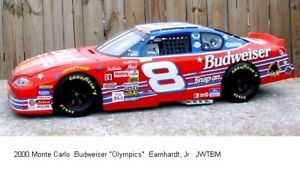 YOU BUILD NASCAR's 2000 Budweiser Olympics Chevy M.C. #8 Dale Jr.