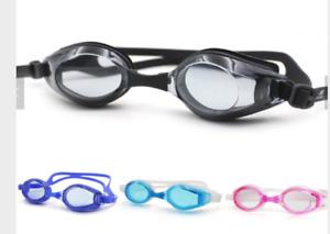 UV Anti Fog Swimming Goggles - Mens, Ladies or Kids i