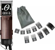 New Oster Classic 76 Wood 76076-491 Color Edition Hair Clipper+10 PC Comb Set