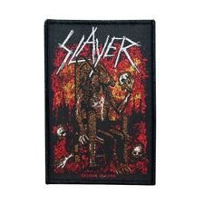 Slayer Devil on Throne Patch Thrash Metal Music Band Art Woven Sew On Applique