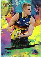 2017 Select Footy Stars Holo Foil (HF7) David MACKAY Adelaide