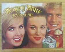 Southern Comfort Vintage Happy Hour Barguide Bar Recipe Book Booklet 1969
