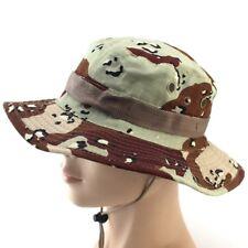 Fishing Hiking Boonie Snap Brim Bucket Sun Hat Cap Camo New EHE8 01