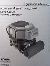 Kohler Aegis 17 20 23 Hp Liquid Cooled Engine Service Manual Lv560 Lv625 Lv675