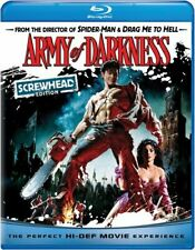 Army of Darkness (Blu-ray Disc, 2009, Screwhead Edition 5 Halloween Candy Cash Offer)