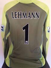 Arsenal FC LEHMANN 03/04 GoalKeeper Football Shirt (XL) Soccer Jersey (BNWT)