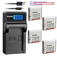 Kastar Battery LCD Charger for Kodak LB-060 & Kodak PixPro AZ421 PixPro AZ501