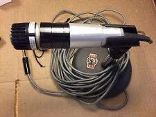 Vintage Shure 545L Unidyne III Microphone 160 Ohm Mic w/ Atlas 763 Short Stand