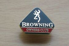 Clay Pigeon , Browning Owners Club , Shooting Pin Badge