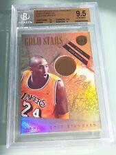 2010-11 Gold Standard Kobe Bryant Gold Stars 14K **4/8**, BGS 9.5/10, Lakers