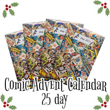 Comic Book Advent Calendar - 25 Marvel / DC / Indie comics for Christmas!