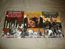 The Walking Dead Volume 17-19 TPBs Image Comics Lot Of 3 NM-