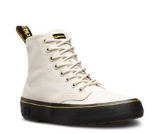 Dr Doc Martens MONET 8 Eye Canvas Ankle Boot BONE BROWN 23548115 Women Size 11