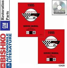 1995 Chevrolet Corvette Shop Service Repair Manual CD