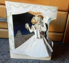 "3D Swing Card -Santoro Graphics ""Wedding Dance"""