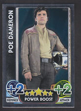 Topps Star Wars - Force Attax The Force Awakens # 185 Poe Dameron - Mirror
