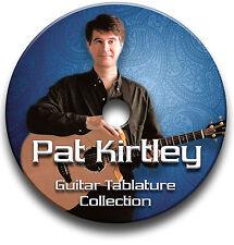 PAT KIRTLEY FINGERSTYLE GUITAR TAB TABLATURE SONG SOFTWARE CD