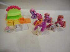 COLLEZIONE Bundle Of My GIOCATTOLI Little Pony e accessori Ponyville