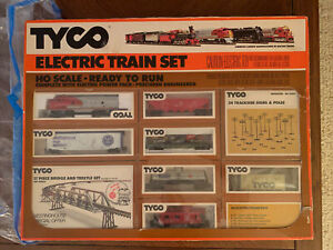 Vintage 1970s Tyco Ho Electric Train Set Westinghouse Special Ready To Run Mint