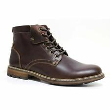 Mens Smart Walking Lace Up Military Army Dealer Biker Work Ankle Boots Shoes
