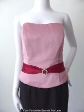 ALFRED ANGELO Top Pink Bustier Corset NWT rrp $299.00 Size 14  US 10 - 12