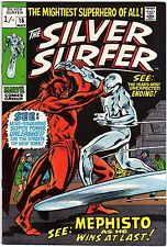 Silver Sufer v1 16 Marvel Comics USA 1970 Stan Lee John Buscema Mephisto app.