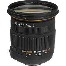 Sigma 17-50mm f/2.8 EX DC OS HSM Zoom Lens for Nikon DSLRs with APS-C Sensors!!