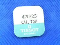 TISSOT 420/23 ORIGINAL 709 Roue de couronne Kronrad Crown wheel COMPLET NOS NEW