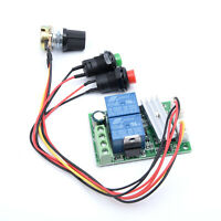DC 6V 12V 24V 3A Reversible Motor Speed Regulator Controller PWM Controller