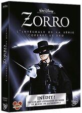 ZORRO - DISNEY - L'intégrale (saisons 1 à 3 ) - COFFRET 13 DVD NEUF SOUS CELLO
