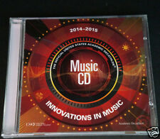 2014-15 Official Academic Decathlon Innovations In Music CD NEW Factory Sealed
