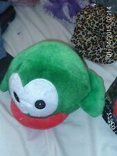 "Flappy Birds ~ Large 9"" GREEN ~ Soft Plush Beanie Toy"