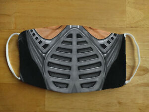 Face Mask Funny Mortal Kombat Smoke Gamer Reusable Protection Face Cover UK