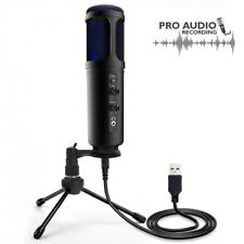 Pyle PDMIUSB50 USB Plug and Play Microphone, Portable Pro Audio Condenser Mic