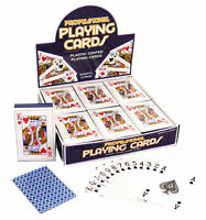 Deck Of Classic Playing Cards - Poker Game Casino Plastic Coated Kids Adult New