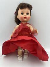 "Vintage Arranbee R & B Doll Hard Plastic Brunette Walker - Littlest Angel 10"""