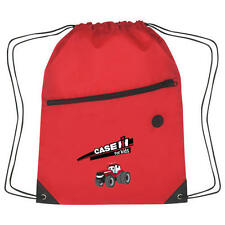 Case IH Red Sports Pack with Zipper Draw String Tote