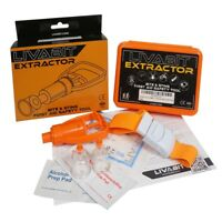 LIVABIT Emergency Venom Extractor Pump First Aid Safety Snake Bite Tool Kit